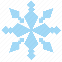 frost, ice, ornament, snow, snowflake icon