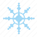 frost, ice, nature, snow, snowflake icon