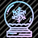 christmas, flakes, globe, globes, snow, snowflakes, winter icon