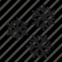 removal, snow, snowfall, snowflakes icon