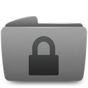 folder, lock, unlock icon