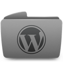 folder, wordpress icon
