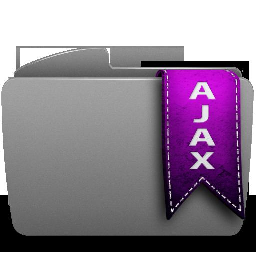 ajax, folder icon