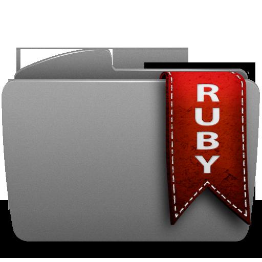 folder, ruby icon