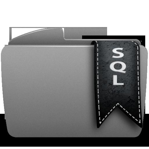 folder, sql icon