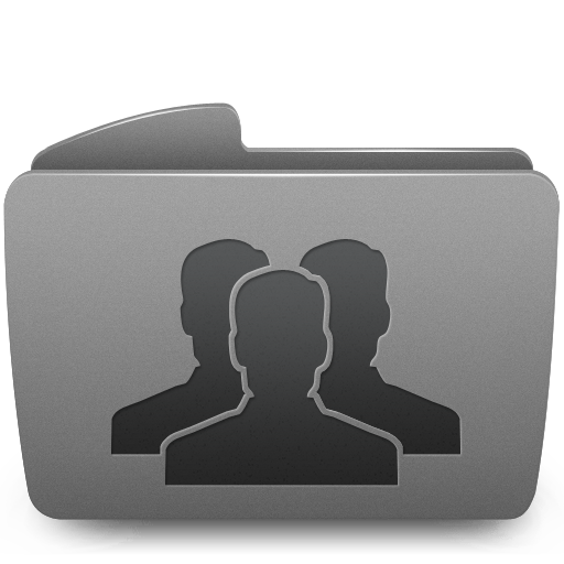 folder, groups icon