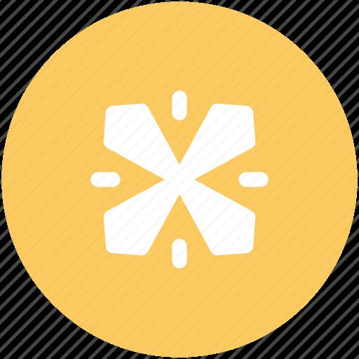 christmas, ice flake, snow falling, snowfall, snowflake, winter decoration icon