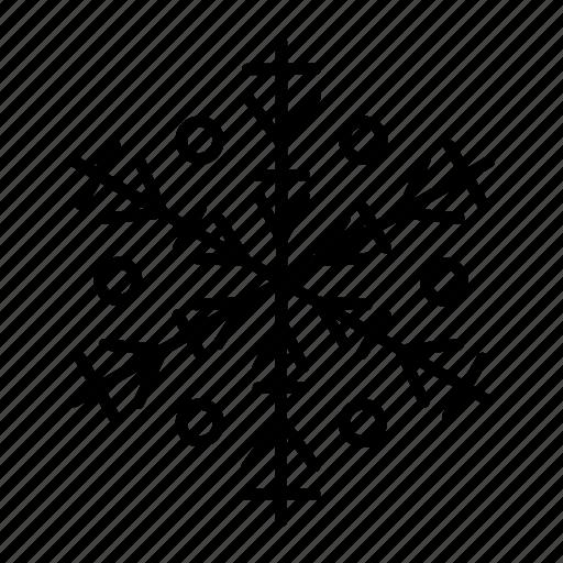 iceflake, snow, snow crystal, snowflake, winter icon