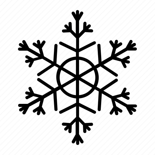 iceflake, snow, snow crystal, snowflake, winter icon