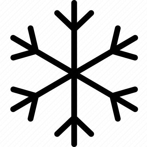 christmas, cold, flake, snow, winter icon