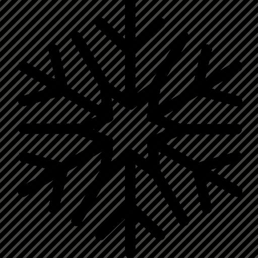christmas, cold, flake, snow, winter icon