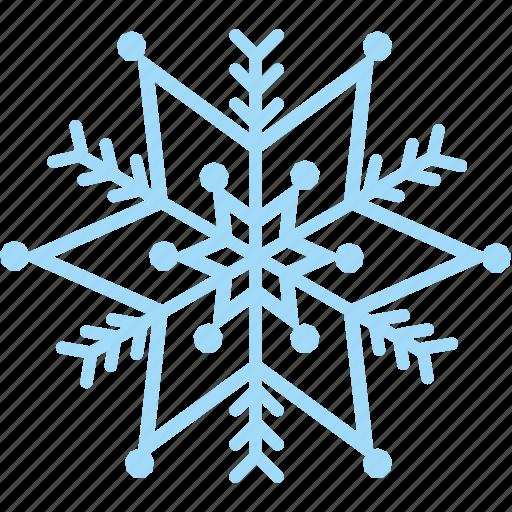 frost, snow, snowflake, winter icon