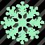 award, christmas, cold, holiday, snow, snowflake, winter icon