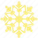 christmas, cold, holiday, snow, snowflake, weather, winter icon