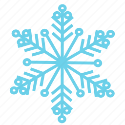 christmas, cold, ice, snow, snowflake, weather, winter icon