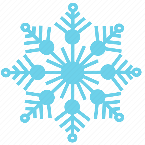 christmas, cold, holiday, ice, snow, snowflake, winter icon