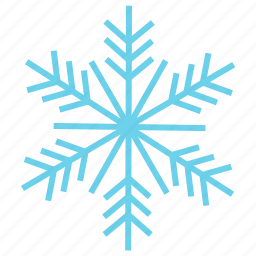 cold, holiday, ice, snow, snowflake, weather, winter icon