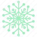 cold, snow, snowflake, winter, christmas, holiday, weather icon