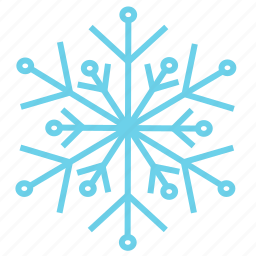 cold, holiday, snow, snowflake, weather, winter, xmas icon