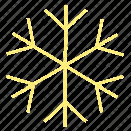 cold, holiday, ice, snow, snowflake, winter, xmas icon