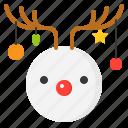 christmas, snow, snowman, winter