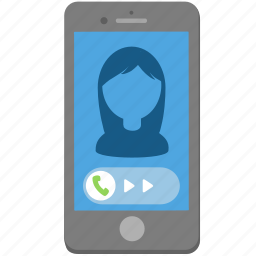 answer, call, iphone, phone, smartphone, talk icon