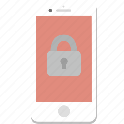 iphone, lock, locked, password, phone, smartphone icon
