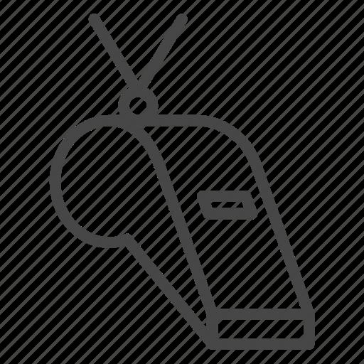 equipment, football, soccer, sport, whistle icon