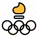 competition, games, greek, olympic, sports icon