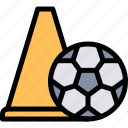 football, game, match, sport, training icon