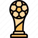 football, game, match, sport, trophy icon