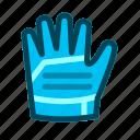 football, gloves, goalkeeper gloves icon