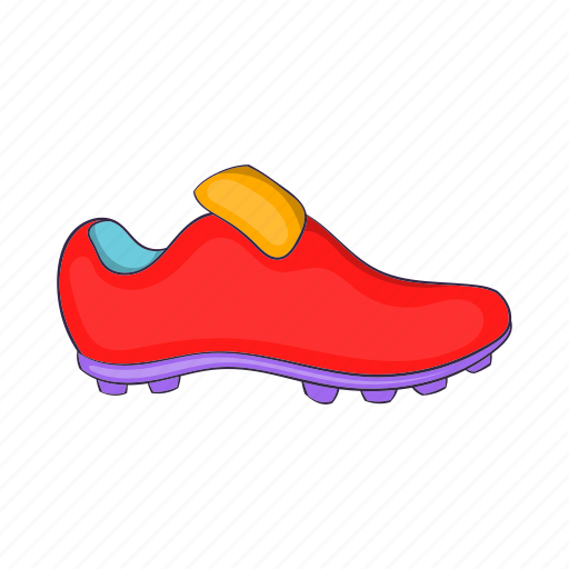 boots, cartoon, football, shoes, sign, size, wear icon