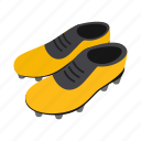 equipment, football, isometric, league, shoe, soccer, sport