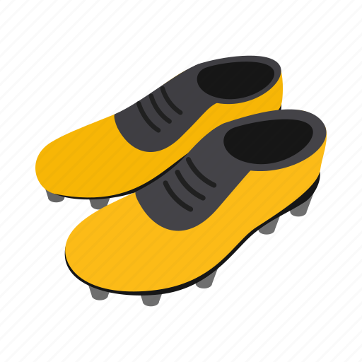 equipment, football, isometric, league, shoe, soccer, sport icon