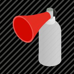 amplifier, communication, isometric, sound, speaker, speech, voice icon