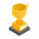 best, champion, first, golden, isometric, place, success