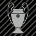 champions, championship, football, trophy, winner icon