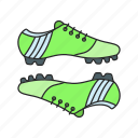 boots, football, shoes, sport icon