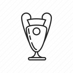 cup, play, soccer, sport, win icon