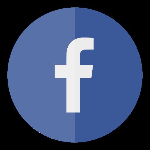 circle, facebook, media, social icon