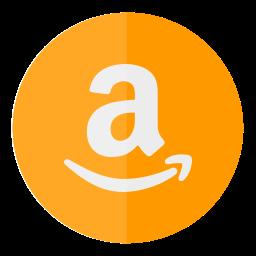 amazon, buy, circle, sell, shop icon