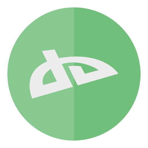 circle, deviantart, media, social icon