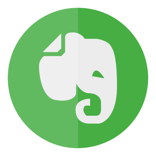 circle, evernote, note icon