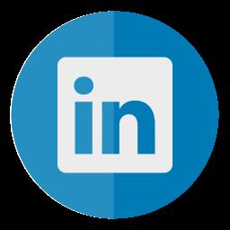circle, in, linked, linkedin, media, social icon