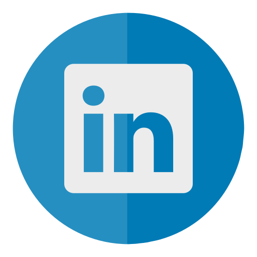circle, in, linked, linkedin, media, social icon