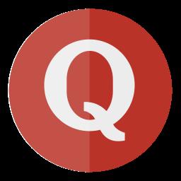 circle, media, quora, social icon