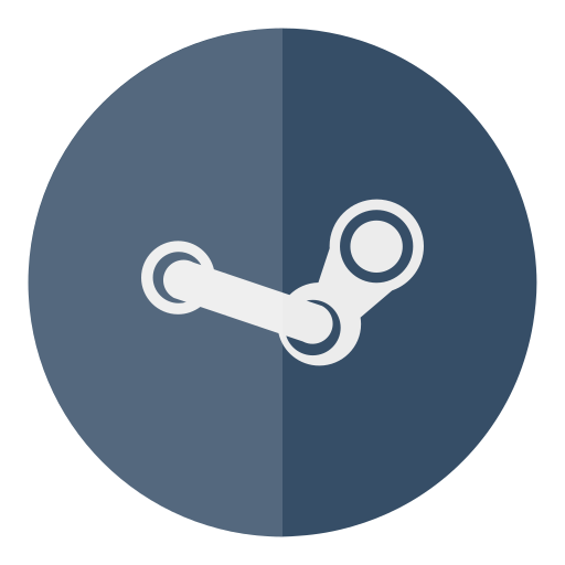 circle, games, steam icon