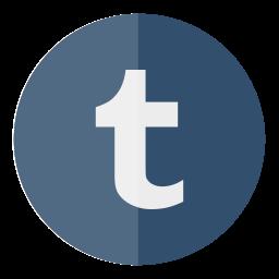 circle, media, social, tumblr icon
