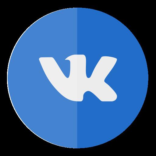 circle, media, social, vk icon